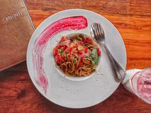 Jedzenie & napoje włoscy obrazy stock