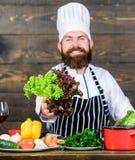 jedzenie niezdrowy żadny powiedzenie brodaty szczęśliwy mężczyzna szefa kuchni przepis Dieting żywność organiczna Zdrowy karmowy  obrazy stock