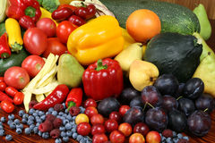 jedzenie organicznie Fotografia Stock
