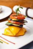 jedzenie piec na grillu warzywo Zdjęcia Stock