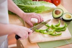 jedzenie preperation Fotografia Stock