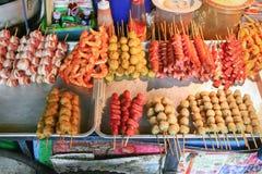 Jedzenie przy ulicą Obraz Royalty Free