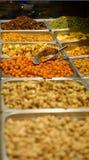 jedzenie ram orzechów szereg mieszanych Zdjęcie Royalty Free