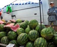 Jedzenie rynek w Chortkiv_2 Zdjęcia Stock