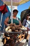 Jedzenie rynek w Chortkiv_6 Fotografia Stock