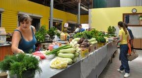 Jedzenie rynek w Chortkiv_9 Zdjęcie Royalty Free