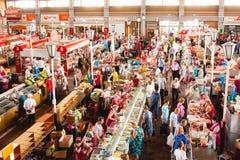 Jedzenie rynek w Gomel To Jest przykład Istnieć jedzenie rynek Obrazy Royalty Free