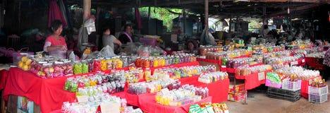 Jedzenie rynek w północnym Tajlandia, Chiang Mai Zdjęcia Royalty Free