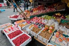 Jedzenie rynek w Szanghaj Zdjęcie Royalty Free