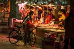 Jedzenie rynki w Guangzhou, Chiny obrazy stock