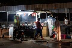 Jedzenie stojak w Nizwa, Oman Zdjęcie Stock