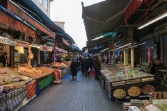 Jedzenie stojaki w Bursa, Turcja Obraz Royalty Free