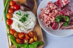Jedzenie Tajlandia Obraz Royalty Free