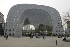 Jedzenie Targowy Hall Rotterdam Obrazy Stock