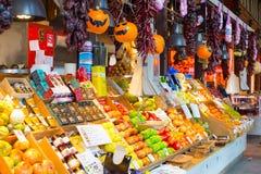 Jedzenie targowy San Miguel, Madryt Obraz Stock