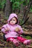 jedzenie tortowa dziewczyna Obraz Royalty Free
