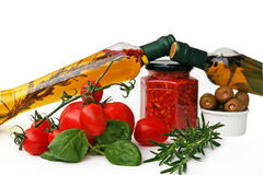 jedzenie we włoszech Fotografia Stock