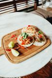 jedzenie w Casco Viejo, Panamska część 26 zdjęcie royalty free
