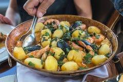 Jedzenie w Portugalia zdjęcie royalty free