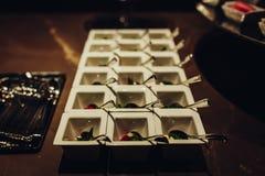 Jedzenie w talerzach Obraz Stock