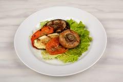 Jedzenie w talerzu fotografia royalty free