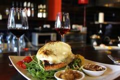 Jedzenie - Wyśmienita Francuska kuchnia Fotografia Royalty Free
