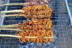 jedzenie z grilla Zdjęcia Royalty Free