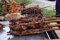 jedzenie z grilla Obraz Stock