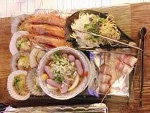 jedzenie z grilla Fotografia Stock