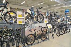 Jeździć na rowerze sklep Obrazy Royalty Free