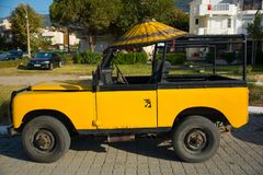 jeep Stockbild