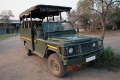 Jeep. A jeep for safari in south Africa Royalty Free Stock Images