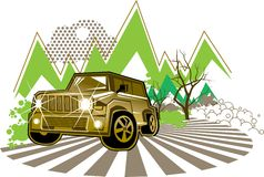 Jeep Royalty Free Stock Photo