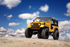 jeep Royaltyfria Bilder