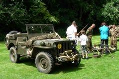 Jeep 1960 Hotchkiss M201 Royalty Free Stock Photo