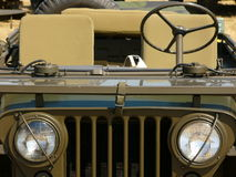 Jeep. Green jeep royalty free stock photos