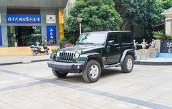 Jeep Fotografia Stock
