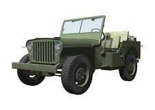 Jeep illustration stock