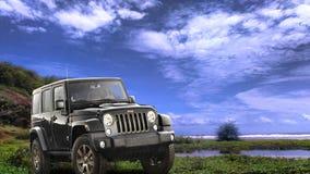 jeep Royalty-vrije Stock Afbeelding