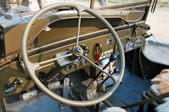 Jeep américaine Photos stock