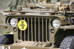 Jeep americana di Willys Fotografia Stock