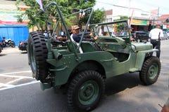 Jeep americano Fotografía de archivo libre de regalías