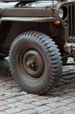 Jeep americano Foto de archivo libre de regalías