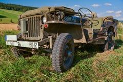 Jeep americano foto de archivo