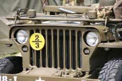 Jeep americano de Willys Fotografía de archivo