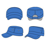 Jeep cap band outlined template Stock Photo