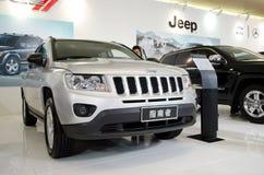 Jeep car on display Royalty Free Stock Photo