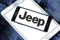 Jeep car logo Stock Image