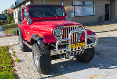 Jeep car Royalty Free Stock Images