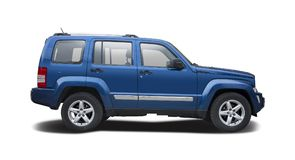 Jeep Cherokee isolou-se Fotografia de Stock